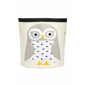 3sprouts storage bin snowy owl