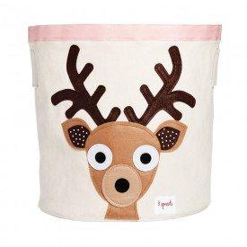 3sprouts storage bin deer