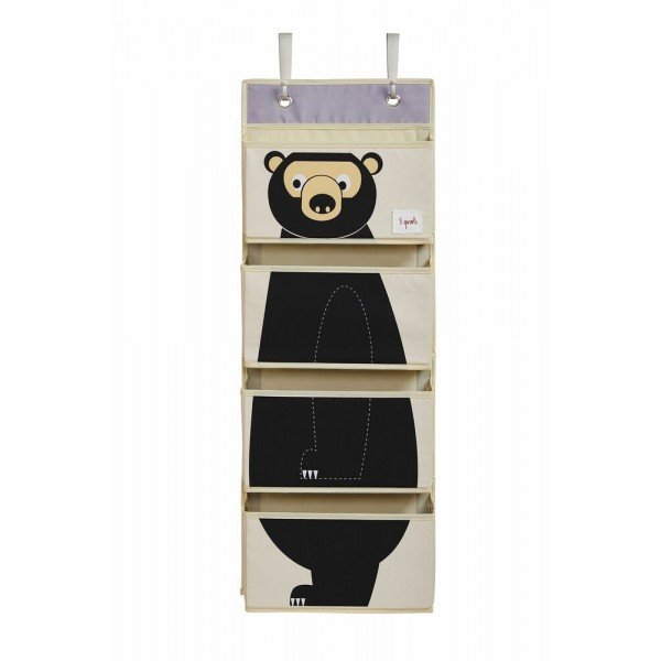3sprouts hanging wall organizer bear angled