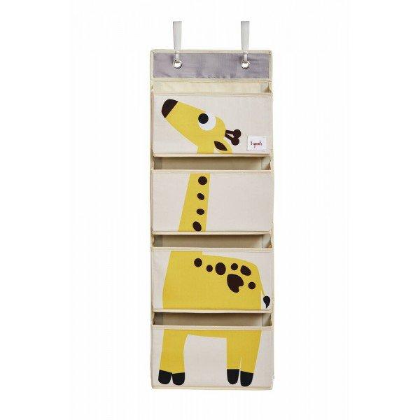 3sprouts hanging wall organizer giraffe