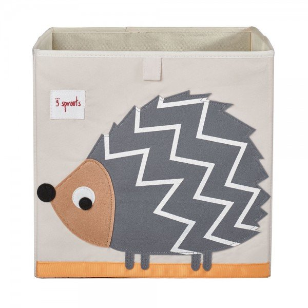3sprouts storage box hedgehog