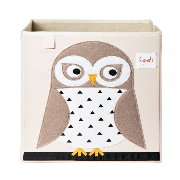 3sprouts storage box owl