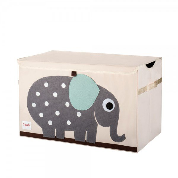 3sprouts toy chest elephant