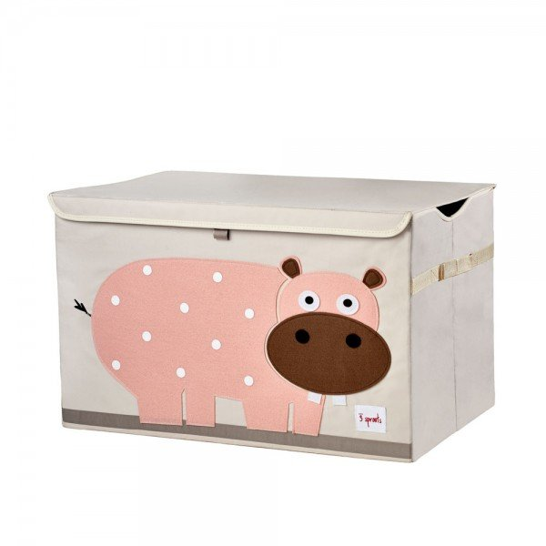 3sprouts toy chest hippo