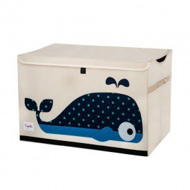 3sprouts toy chest whale