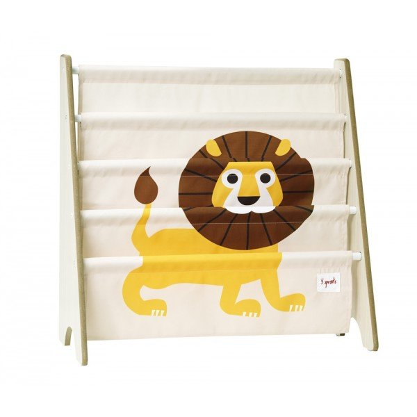 3sprouts book rack lion