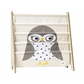 3sprouts book rack owl