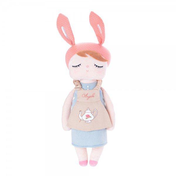boneca metoo angela doceira retro bunny rosa 33cm 1