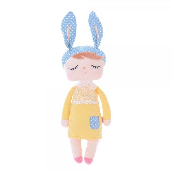 boneca metoo angela amarela 33cm 1