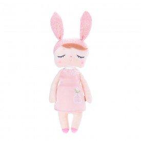 boneca metoo angela jardineira rosa 33cm 1