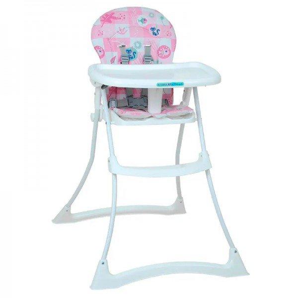 cadeira de alimentacao bon appetit xl peixinho rosa burigotto ixcr3045gl21 frente