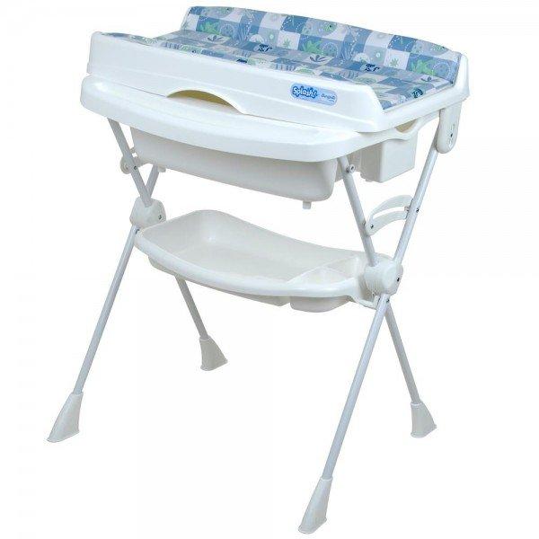banheira burigotto splash peixinhos azul 9110998