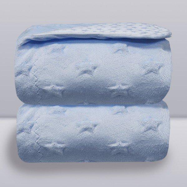 manta donna laco bebe stars azul