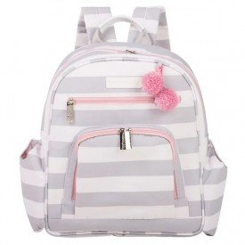 mochila noah candy colors ice pink 12can307 frente
