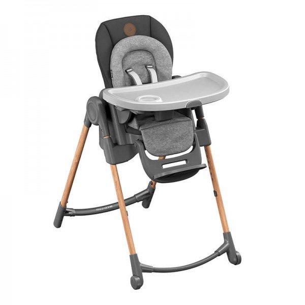 medium 2713750300 2019 maxicosi homeequipment highchair minla grey essentialgraphite 3qrtright