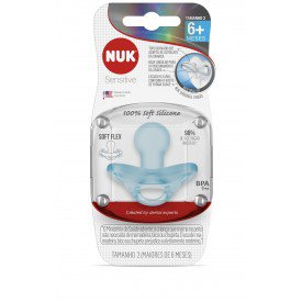 7896098813218 chupeta nuk sensitive soft 100 silicone boy s2