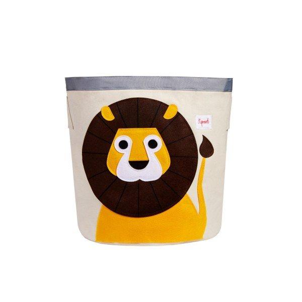 3sprouts storage bin lion