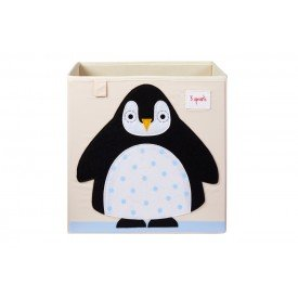 3sprouts storage box penguin