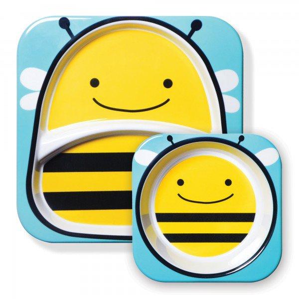 a 02 003 set de pratos zoo abelha 4