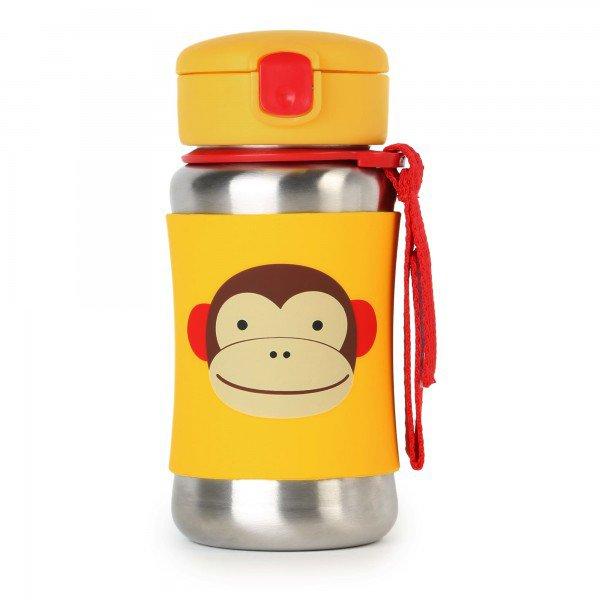 a 23 004 garrafinha inox zoo macaco 1