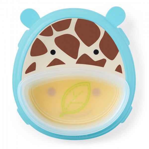 a 32 015 prato de treinamento girafa skip hop