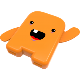 h 15 003 porta dentinho laranja angie