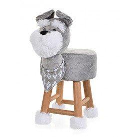 tyuxup 1061 2 banco de pelucia cachorro schnauzer