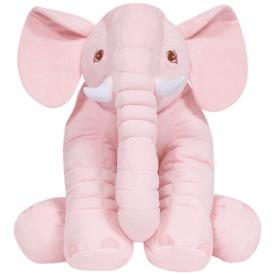 7562 almofada elefante gigante rosa