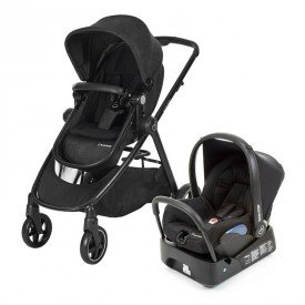 medium 1210ts trio maxicosi stroller travelsystem anna black nomadblack 3qrt duo base