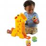 girafa com blocos fisher price