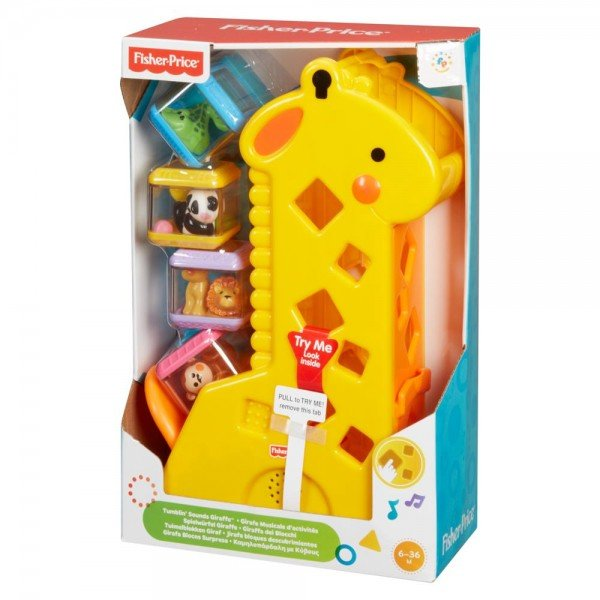 girafa e blocos fisher price pick a blocks b4253 202107