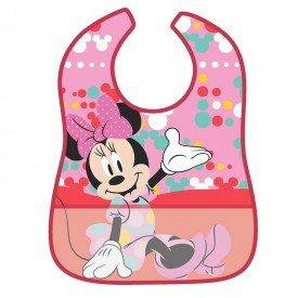 babador impermeavel disney minnie mouse alegre girotondo baby bt1894 frente