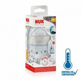 mamadeira nuk first choice controle de temperatura tamanho 1 neutra 150ml 7896098813898 1