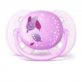 chupeta philips avent ultra soft 0 a 6 meses rosa 15328851