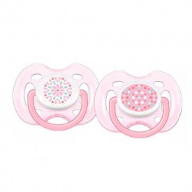 chupeta freeflow dupla 0 6m rosa philips avent 1500093796