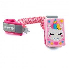 pulseira seguranca rosa safety