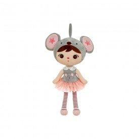 boneca metoo jimbao ratinha 40 cm 1