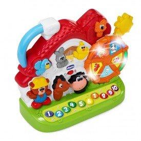 brinquedos de atividades fazendinha bilingue chicco 1