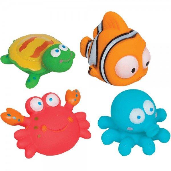 bichinhos para banho buba toys 09679 oceano 4 pecas 50004221