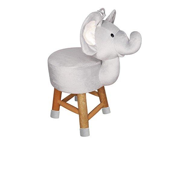 9843081 banco de pelucia de elefante