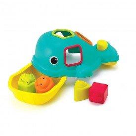 3286 brinquedo de encaixe baleia