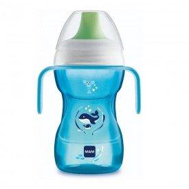 copo de treinamento fun to drink 8 270ml azul mam 8554