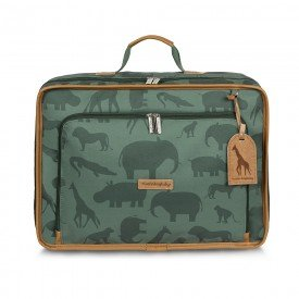 mala maternidade vintage masterbag baby safari verde 01