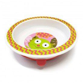 prato raso com ventosa funny meal azul multikids rosa 02