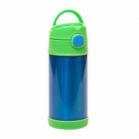 garrafa termica clingo inox azul verde 2