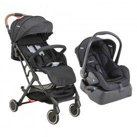 carrinho de bebe kiddo sprint travel system com bebe conforto e base para carro 1