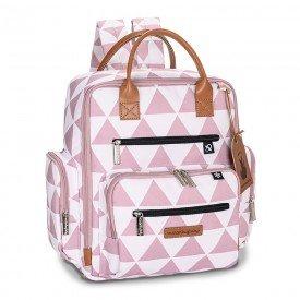 mochila maternidade masterbag baby urban manhattan rosa 01