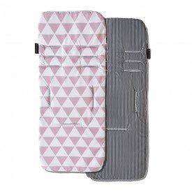 capa protetora de carrinho de bebe masterbag baby manhattan rosa 01