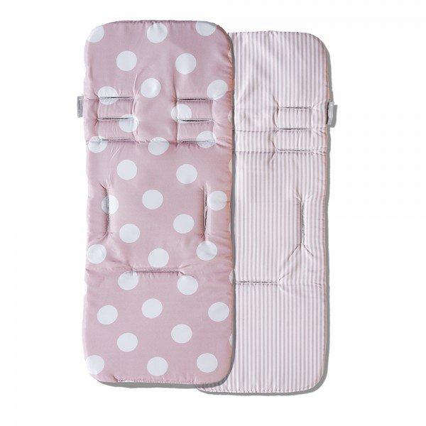 capa protetora de carrinho de bebe masterbag baby bubbles rosa 01