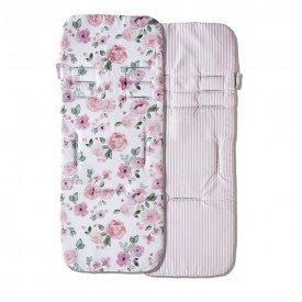 capa protetora de carrinho de bebe masterbag baby flora rose 01